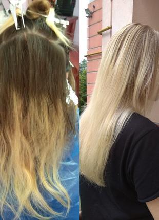Требуется модель для отработки сложных техник окрашивания волос