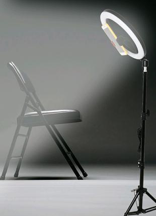 Кольцева Лампа 36 см.40 ват.+пульт блютуз+штатив 2 метра