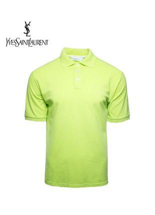 Мужская polo футболка yves saint laurent оригинал