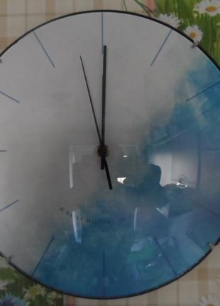 Часы настенные кварцевые Blue and white