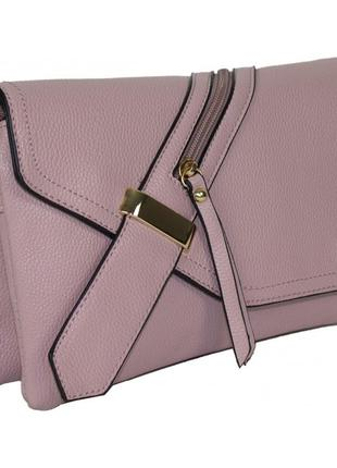 Сумка с ручкой через плечо розовая женская маленькая. сумочка ...