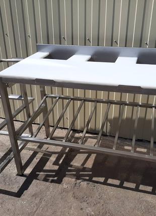 Стол обвалочный из нержавеющей стали