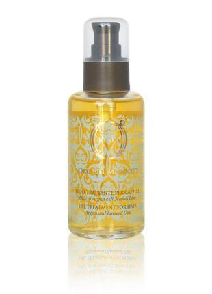 Barex olioseta odm масло-уход для волос с маслом арганы и масл...