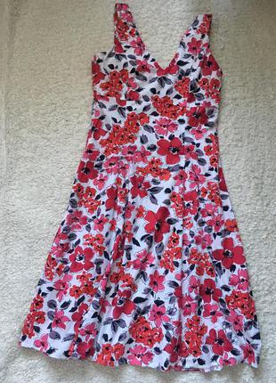 Красивое платье в цветы 💐 🌷