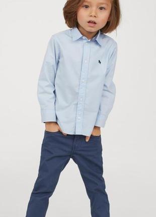 Твиловые брюки   h&m