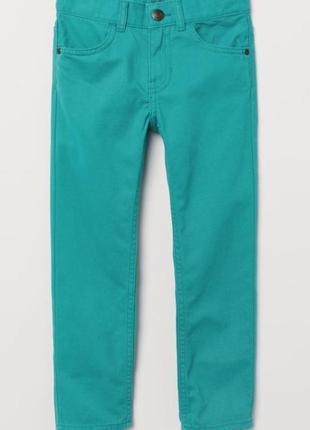 Стильные брюки из твила h&m