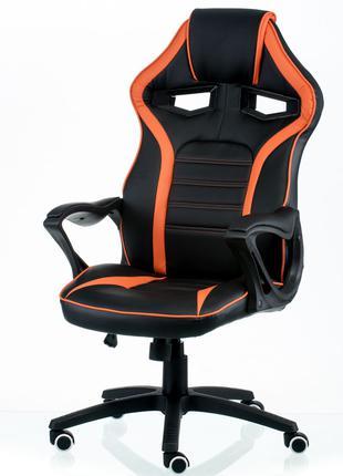 Кресло геймерское Game black/orange