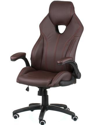 Кресло руководителя офисное Leader brown