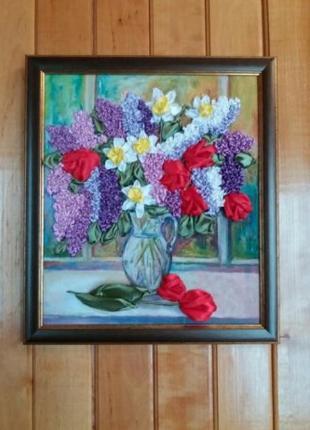 Картина, handmade,чудовий подарунок на Миколая
