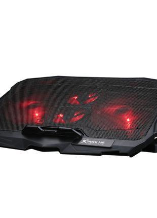 Охлаждающая подставка для ноутбука XTRIKE ME FN-802 4 КУЛЕРА