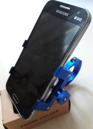 Крепление держатель смартфона на руль велосипеда металлический