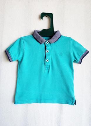 Детское поло футболка matalan