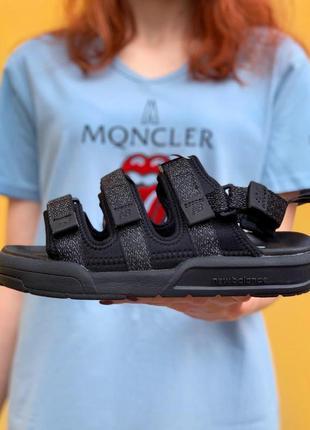 New balance black sandals