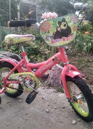 Велосипед для девочки (2-5 лет)