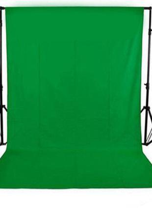 Зелёный тканевый фотофон