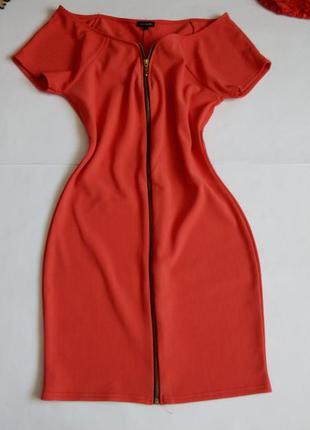 Платье мини 46 48 размер бюстье нарядное футляр на молнии ново...