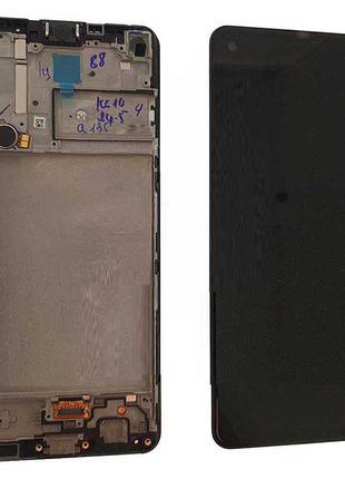 Оригинальный дисплей в рамке для Samsung SM-A217 Galaxy A21s