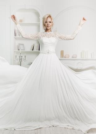 Срочно 34 свадебных новых платья