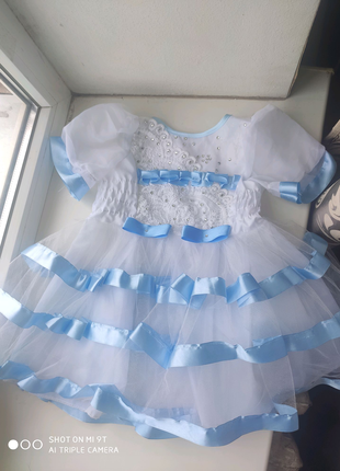 Платье ,, Снежинка,,