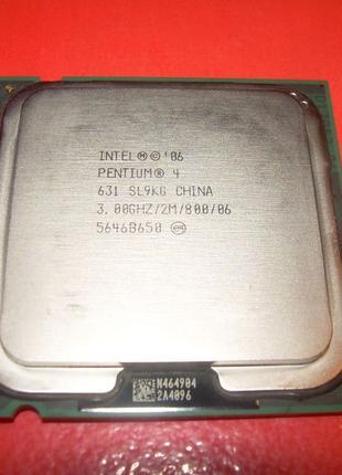 Процессор Intel Pentium 4 631 3.0Ghz/2m/800. PLGA 775