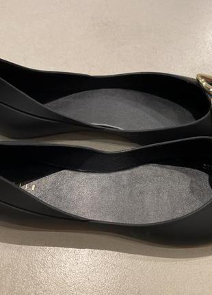 Чёрные силиконовые балетки mohito есть размеры