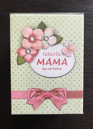 Парфюмированная вода mama Faberlic