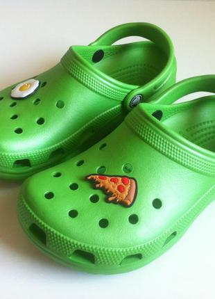 Сабо crocs classic ☀️ 😎🍳🍕 размер m 3 - w 5 ( 35,5 - 36 ) 23 см...