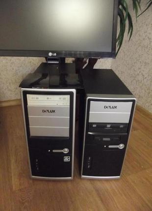 Персональный компьютер, системный блок, AMD, Intel, Dual Core, пк