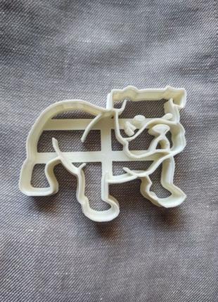 Пресс-форма для печенья(пряника) Бульдог , шт