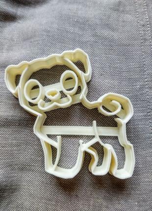 Пресс-форма для печенья(пряника) Мопс , шт Ош