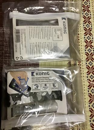 Серветка антисептик для будь яких екранів ,телефон,планшет і т.д