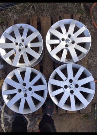 Диски R17, 4*108, et26, 7J, dia65.1. Peugeot Оригинал
