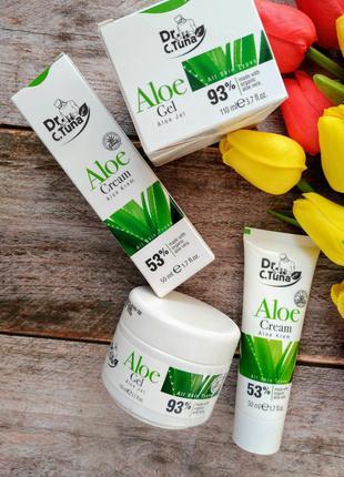 Универсальный крем и гель для лица и тела на 💯% Aloe