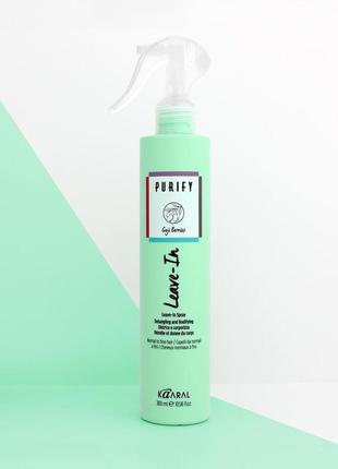 Интенсивно-восстанавливающий спрей для волос  kaaral purify mask