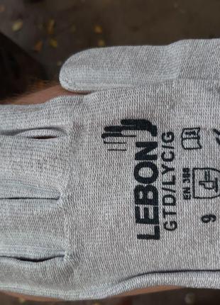 """Перчатки кевларовые ф-мы """"Lebon"""" Франция."""