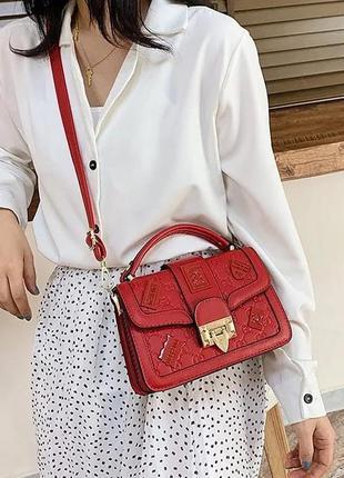 Стильная женская мини сумка клатч