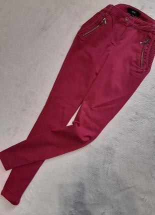 Котоновые джинсы скини размер 6r next