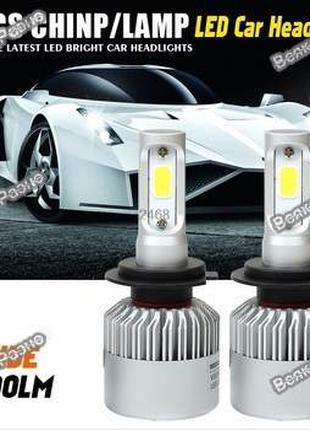 Автомобильные светодиодные лампы дальнего и ближнего света H7,4,1