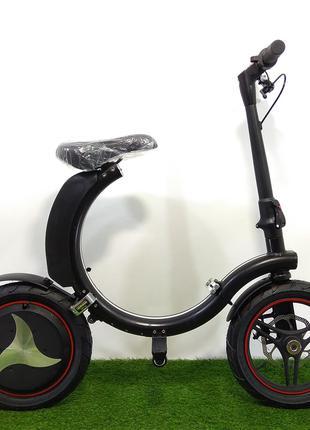 Складной электрический велосипед 14 дюймов колеса (36V / 6Aч - 30