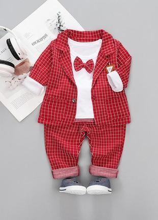 Распродажа !!!стильные нарядные костюмы 3-ки