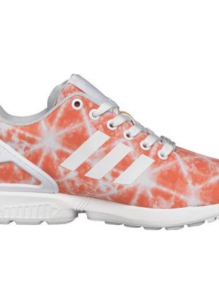 Оригинальные кроссовки adidas zx flux women vivid red