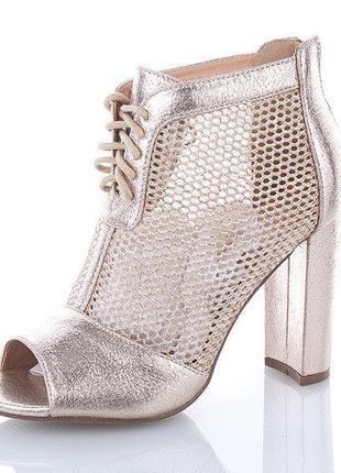 Женские летние ботинки. размеры:36-40.