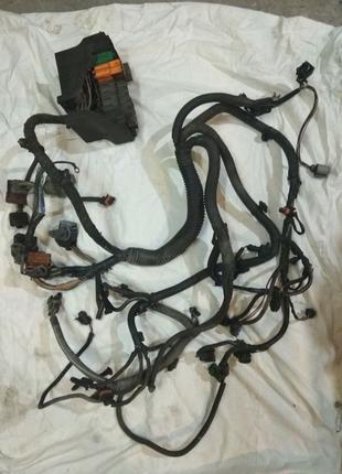 Проводка мотора Renault 1.9dci