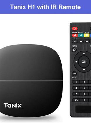 Новый TV Box Tanix H2 Android 9.0 на процессоре Hisilicon Hi3798M