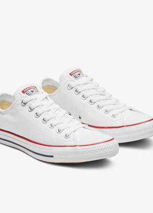 Кеды converse chuck taylor all star classic low optical white ...