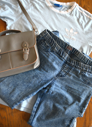 Джеггинсы джегинсы джинсы на резинке