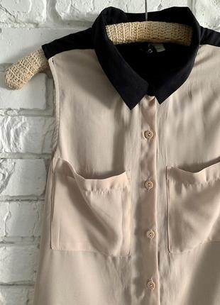 Блузка рубашка майка