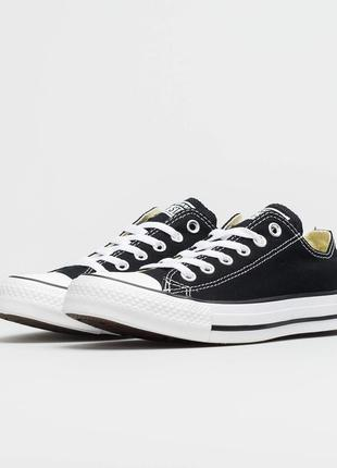 Кеды converse chuck taylor all star classic low optical black ...