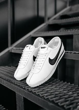 Nike, мужские белые кроссовки найк