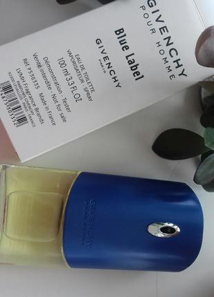 Givenchy Blue Label Туалетная вода (тестер)